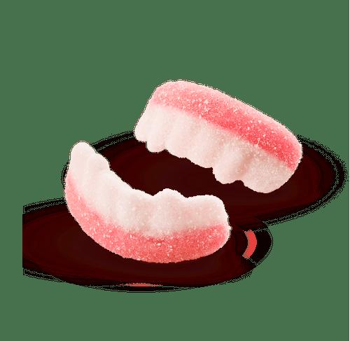 Gelatines Dentes de Vampiro Cítricos 80g