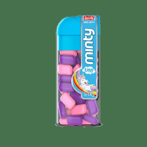 Mini Pastilha Tutti-frutti + Uva Unicórnio 12unX14g