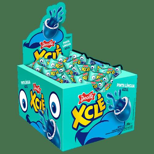 Xclé Pinta Lingua Azul Tutti-Frutti 40un