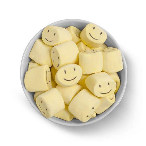 Marshmallow Recheado Carinhas 220g