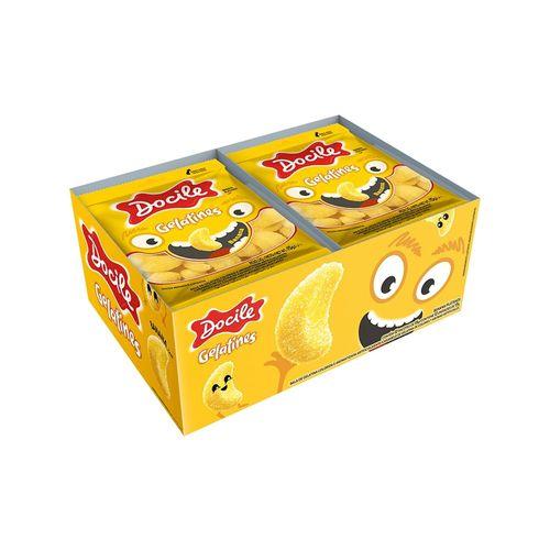 Bala de Gelatina Mini Banana 12unX15g